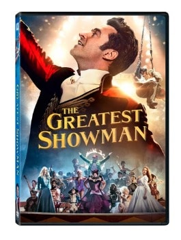 The Greatest Showman DVD: $4 (73% off) + FREE Shipping