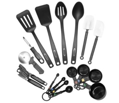 Farberware Classic 17-Piece Kitchen Tool and Gadget Set: $8.35 (52% off)