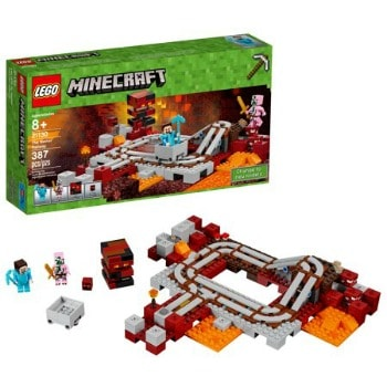 LEGO Minecraft The Nether Railway: $17.99 (40% off)