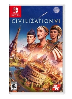 Sid Meier's: Civilization VI Switch Game: $14.99 (25% off)