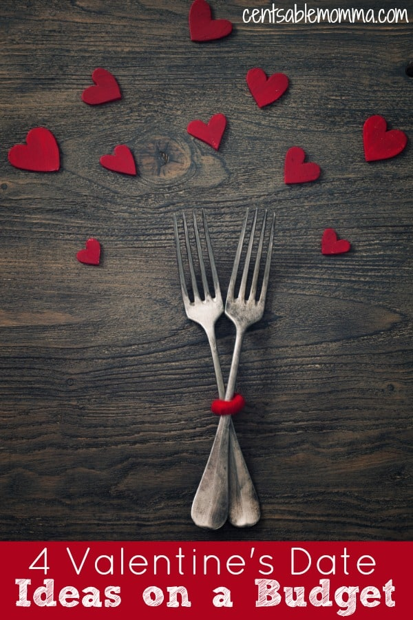 You don't have to spend a ton of money to make Valentine's Day special. Check out these 4 Valentine's Date Ideas on a Budget for some ideas to share your love without busting the budget!