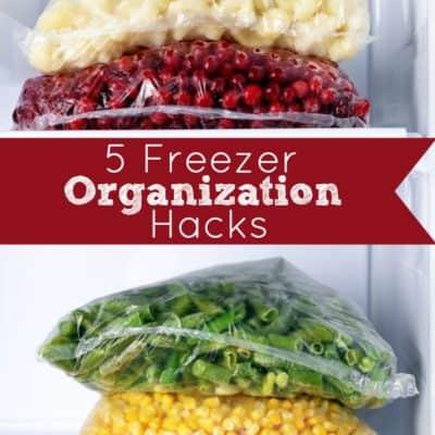 5 Freezer Organization Hacks