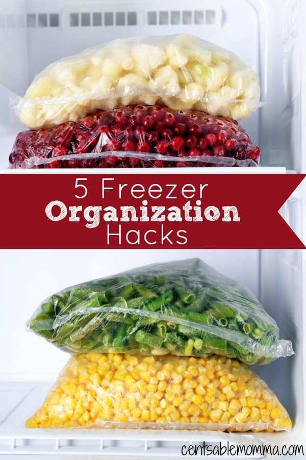 If you are having trouble keeping your freezer stockpile organized, check out these 5 Freezer Organization Hacks for some tricks to keep on top of what groceries you have stored in your freezer so they don't go to waste.