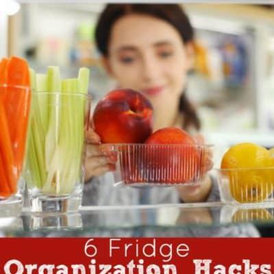 6 Fridge Organization Hacks