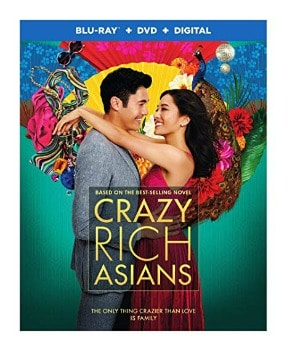 Crazy Rich Asians Blu-ray/DVD Combo: $9.99 (33% off) + FREE Shipping