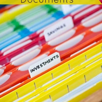 How to Organize Your Important Documents