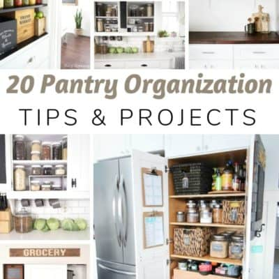 Pantry Organization Tips & Projects