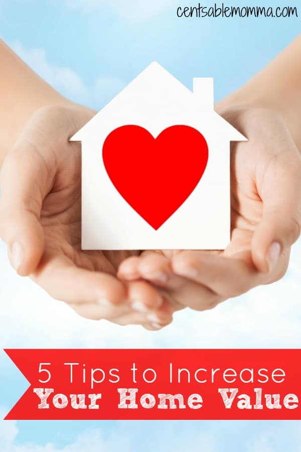 When you make improvements to your house, you want to make sure that you're doing things that will increase the value of your home rather than just throwing money away on projects that won't add value.  Check out these 5 Tips to increase your home value by completing a few projects.