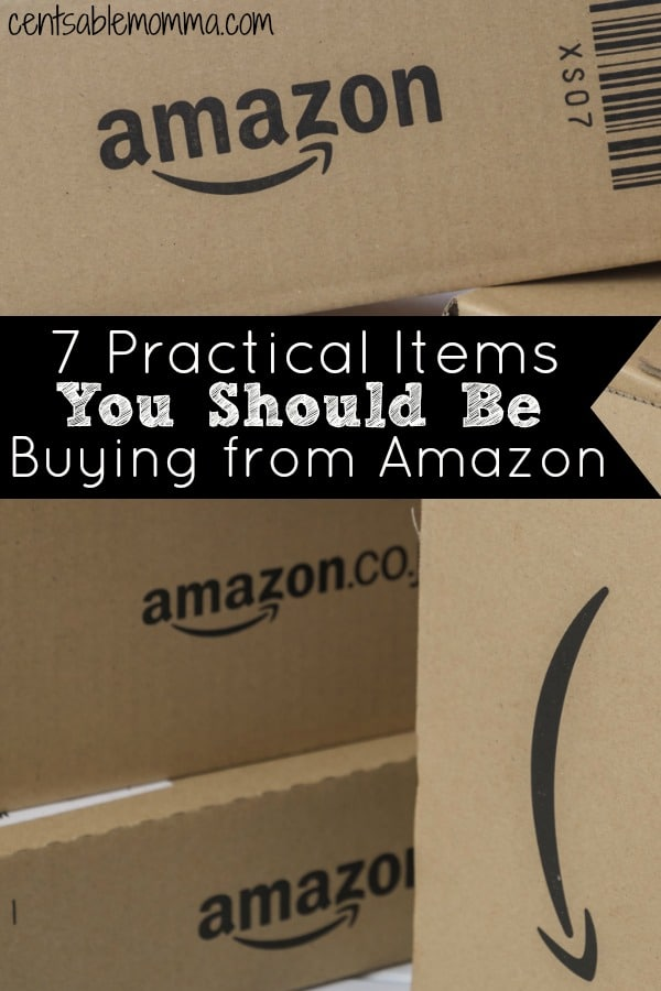 7 Practical Items You Should Be Buying from Amazon