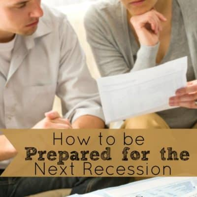 How to Be Prepared for the Next Recession