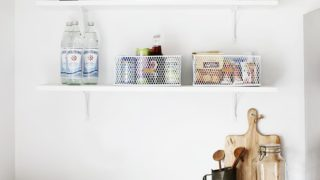 Pantry Organization – DIY Leather Labels