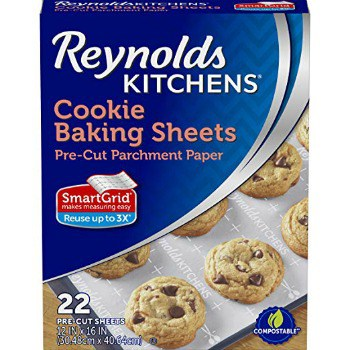 Reynolds Kitchens Cookie Baking Parchment Paper Sheets (22 ct.): $2.30 + FREE Shipping