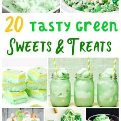 20 Tasty Green Sweets & Treats for St. Patrick's Day
