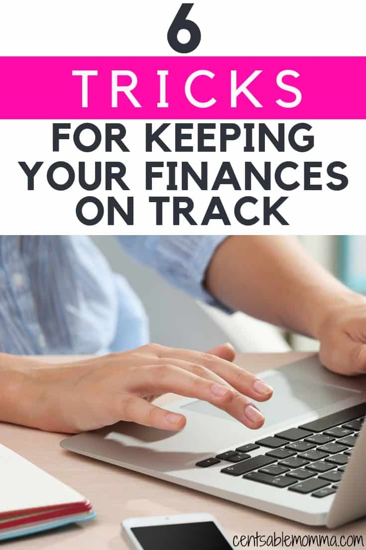 Do you ever feel like you try to get your finances in order, but you keep failing? This is the time to do it! Check out the 6 tricks for keeping your finances on track for some tips on sticking to your budget, saving money, and buying with intention.