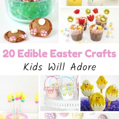 20 Edible Easter Crafts Kids Will Adore