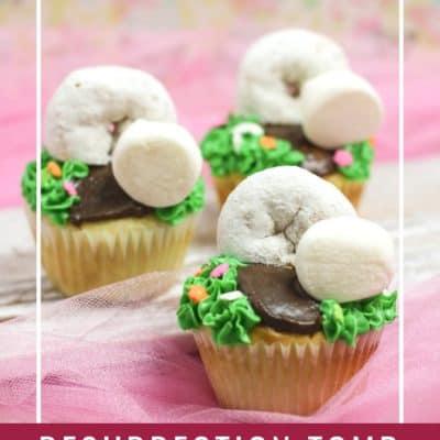 Resurrection Tomb Cupcakes Recipe