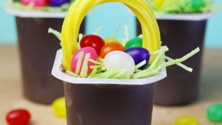 Recipe: Easter Basket Pudding Cups - See Vanessa Craft