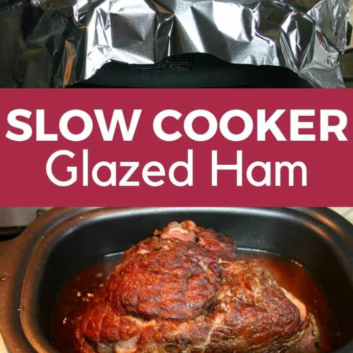 Slow Cooker Glazed Ham