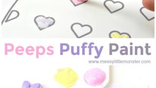 Peeps Edible Puffy Paint