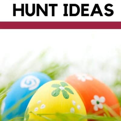 5 Fun Easter Egg Hunt Ideas