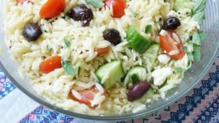 Greek Pasta Salad - Family Picnic Recipe