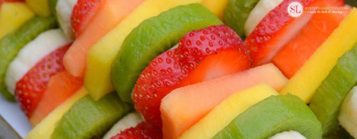 Healthy Summer Snacks with Taste of Nature | backyard play & craft #realtastesgood