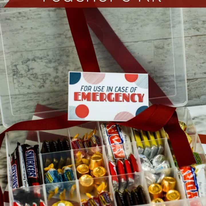 In Case of Emergency Teacher Kit Idea