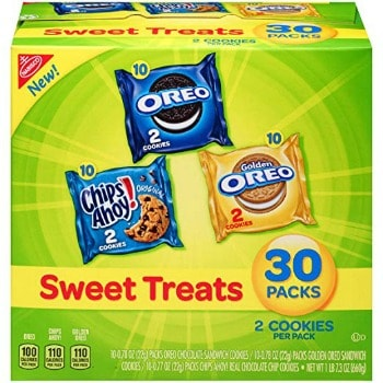 Nabisco Cookies Sweet Treats Variety Pack (30 ct.): $4.74 + FREE Shipping