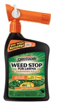 Spectracide Weed Stop For Lawns (32 oz.): $5