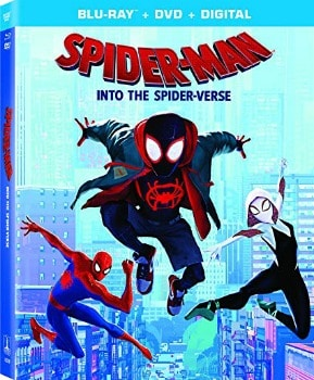 Spider-Man: Into the Spider-Verse Blu-ray/DVD Combo: $14.99 (62% off)