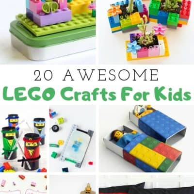 20 LEGO Crafts for Kids Ideas