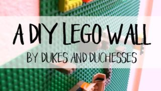 How to Make / Build a DIY Lego Wall (So Simple)