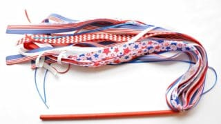 PATRIOTIC RIBBON WAND Mad in Crafts