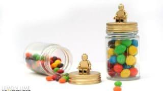 DIY Lego Candy Jars