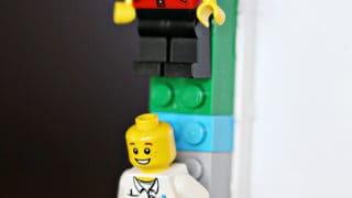 DIY LEGO Minifigures Frame Craft for Kids