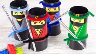 The LEGO NINJAGO Movie Craft - TP Roll Ninjas
