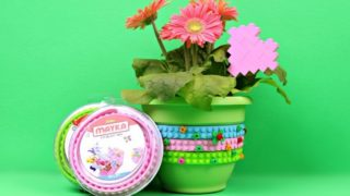 MOTHER'S DAY FLOWER POT WITH MAYKA Holiday Videos Mad in Crafts