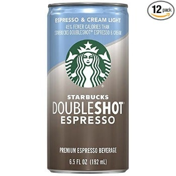 Starbucks Doubleshot Espresso Plus Cream Light (12-pack): $11.07 + FREE Shipping