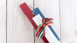Super Easy DIY Wooden Firecrackers for 4th of July