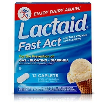 Lactaid Fast Act Lactose Intolerance Relief Travel Packs (12 ct.): $1.71