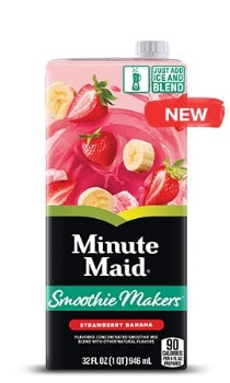 Printable Coupon: $0.55 off Minute Maid Smoothie Makers + Kroger Deal