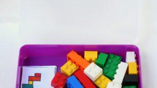 DIY Portable Lego Kit with Free Printable Patterns