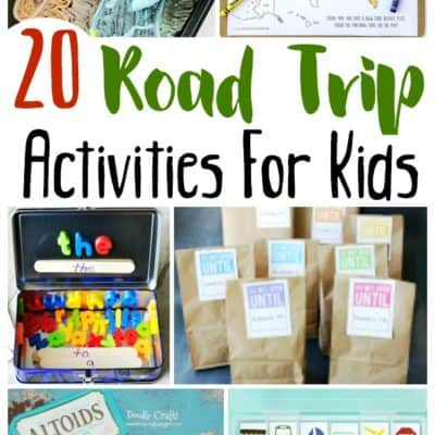 20 Road Trip Activities for Kids