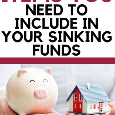 7 Replacement Items You Need to Include in Your Sinking Funds