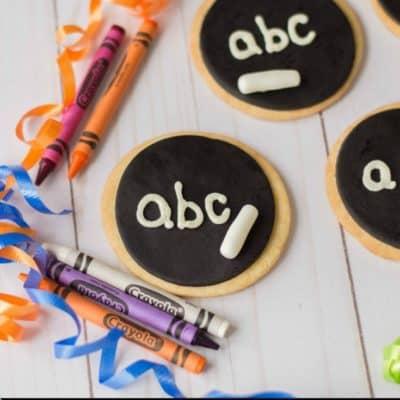 Black Board Cookies Recipe