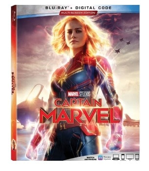Captain Marvel DVD or Blu-Ray: $12.15 (39% off the Sale Price)