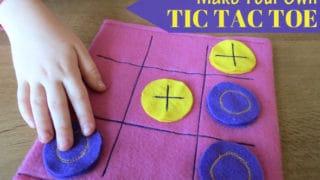 Felt Tic-Tac-Toe Game