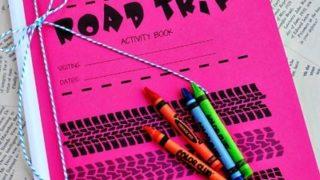 Printable Road Trip Activity Book