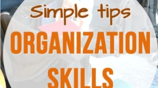 2 Simple Tips to Help Kids Organize School and Home Responsibilities