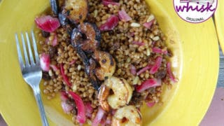 Garlic Honey Grilled Shrimp